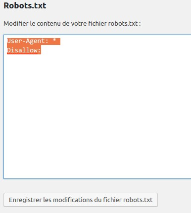 Référencement Google Gratuit Yoast Robots.txt
